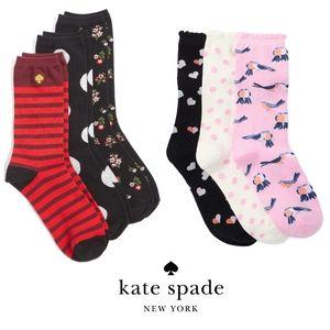 Kate spade New York crew socks